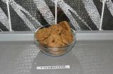 Овсяно-миндальное печенье с изюмом