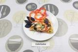 Готовое блюдо: белковая пицца на курином тесте