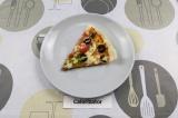 Готовое блюдо: быстрая пицца на лаваше и сковороде