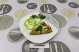 Готовое блюдо: ПП Пицца на овсяно-кабачковом тесте