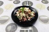 Готовое блюдо: высокобелковый низкокалорийный салат