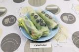 Готовое блюдо: спринг-роллы с авокадо