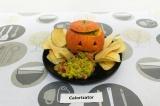 Гуакамоле в тыкве на Хэллоуин - как приготовить, рецепт с фото по шагам, калорийность.