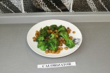 Готовое блюдо: гарнир из клетчатки (нут с брокколи)