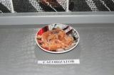 Готовое блюдо: домашняя слабосолёная форель