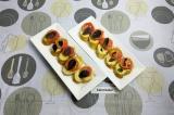 Готовое блюдо: брускетта с томатом