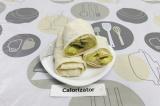 Готовое блюдо: ленивые пирожки из лаваша с картошкой и грибами