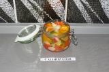 Готовое блюдо: маринованный хрустящий перец