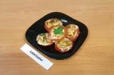 Готовое блюдо: яичница в помидорах ПП