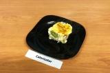 Куриная запеканка с брокколи и цветной капустой