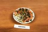Готовое блюдо: слоеный суши-салат