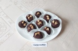 Готовое блюдо: банановые конфетки в шоколаде