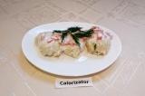 Готовое блюдо: куриные котлеты со сметанным соусом