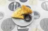 Готовое блюдо: блины без яиц на муке