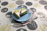 Готовое блюдо: простой торт в микроволновке