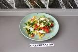 Готовое блюдо: овощной весенний салатик
