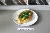 Готовое блюдо: хачапури по-аджарски
