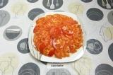 Готовое блюдо: салат Красная шапочка с курицей