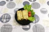 Готовое блюдо: каннеллони фаршированные сосисками