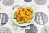 Готовое блюдо: креветки карри