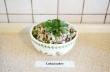 Готовое блюдо: салат с киноа