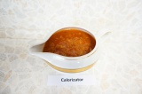 Готовое блюдо: томатно-огуречный соус