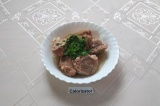 Готовое блюдо: свиная вырезка в мультиварке