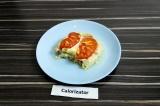 Готовое блюдо: куриная грудка в омлете