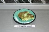 Готовое блюдо: кабачковые оладьи с моцареллой