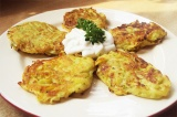 Готовый рецепт: кабачковые оладьи