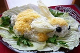 Готовое блюдо: салат Заяц-беляк