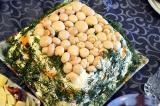 Готовое блюдо: салат Грибы на пеньке