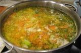 Готовое блюдо: щи из свежей капусты
