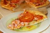 Готовое блюдо: пицца десятиминутка