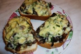 Бутерброд Грибная поляна