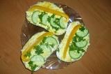 Готовое блюдо: бутерброд Скорый поезд