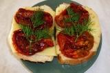 Готовое блюдо: бутерброд Итальянское утро