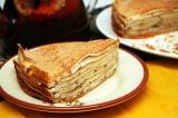Готовое блюдо: блинный пирог