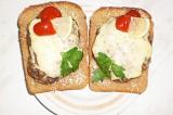 Шаг 9. Готовое блюдо: бутерброды с с куриной котлеткой