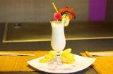 Готовое блюдо: банановый молочный коктейль