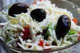 Готовое блюдо: болгарский салат