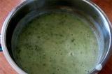 Шаг 5. В блендере из картофеля и зелени сделать пюре.