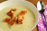 Готовое блюдо: сырный суп-пюре