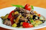 Шаг 6. Готовое блюдо: мясо с баклажанами