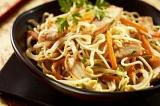Готовое блюдо: лапша по-китайски