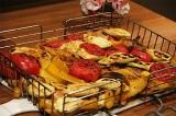 Готовое блюдо: овощи на гриле