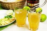 Готовое блюдо: имбирный лимонад