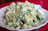 Готовое блюдо: салат Подснежник