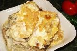 Готовое блюдо: рыба хек под соусом