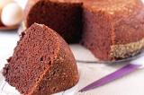 Готовое блюдо: шоколадный бисквит в мультиварке